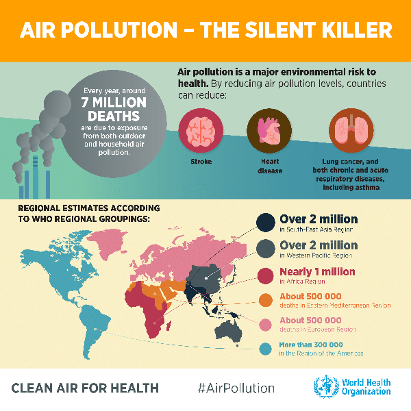 air pollution - the silent killer