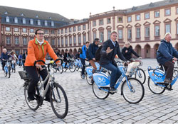 Baton Mannheim who europe germany cycling a vital link between transport
